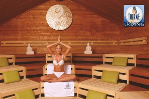 Meditation, Sauna, Therme Erding