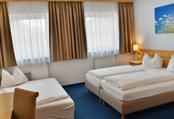 3-Bett Zimmer, Familienzimmer