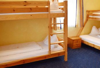 4-Bett Zimmer, Familienzimmer