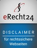 disclaimer e-recht-24