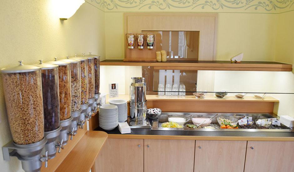 Hotel Nummerhof Erding, Frühstück