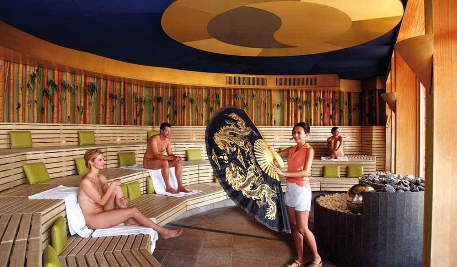 Hotel Nummerhof Erding, Therme Erding, Sauna