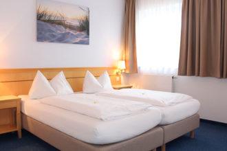 Hotel Nummerhof Erding, Zimmer 2 Bett